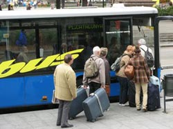 Barcelona airport transfers by bus
