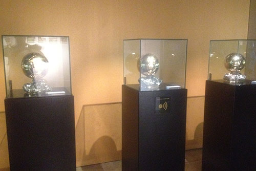 Ballon d'or at the museum