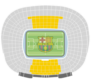 camp nou tribuna 1-2